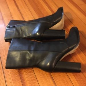 Black Saks boots. Size 10